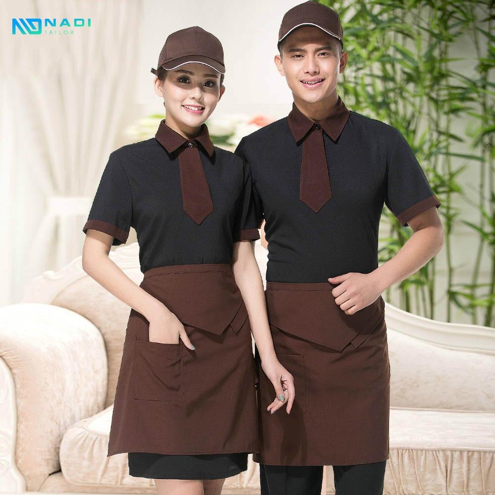Mẫu đồng phục quán cà phê đẹp